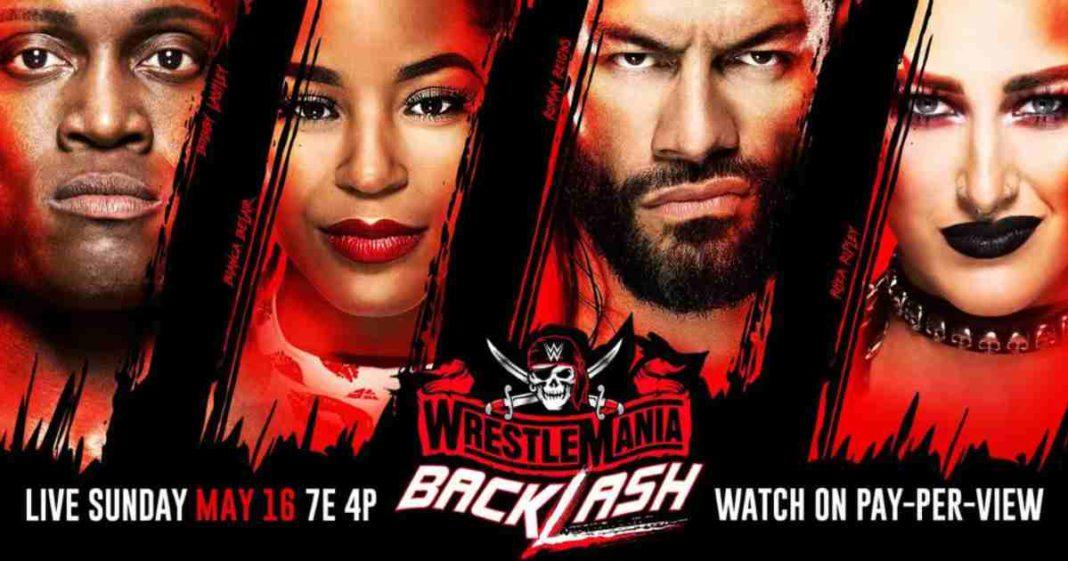 WWE WrestleMania Backlash 2021. Cobertura y resultados en vivo