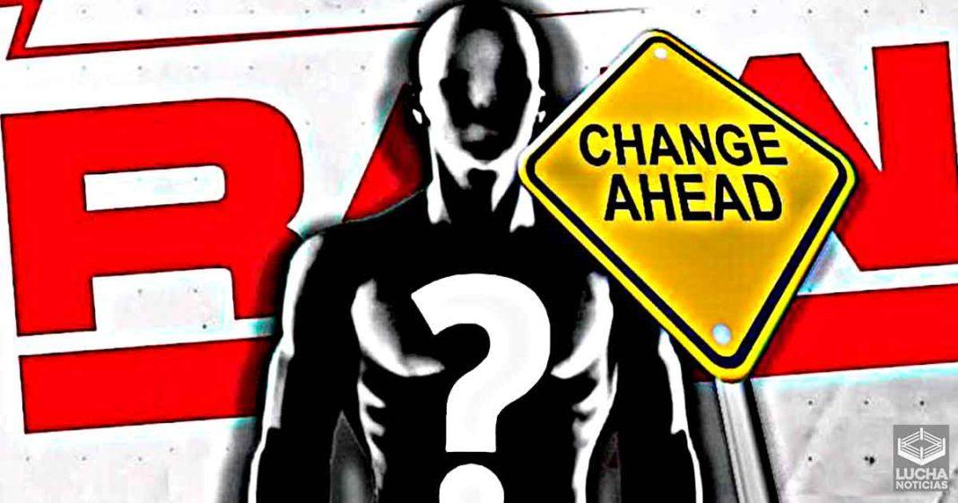 WWE cambió otro plan destacado para RAW esta semana