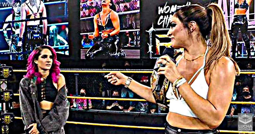 WWE estaría por separar a Raquel González y Dakota Kai