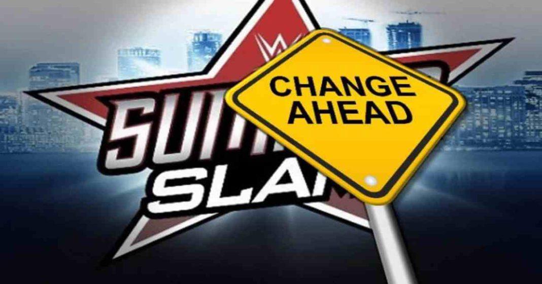 WWE habría cambiado la fecha de SummerSlam 2021