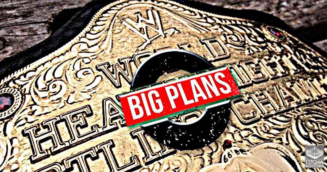 WWE tiene grandes planes para el antiguo campeonato mundial pesado