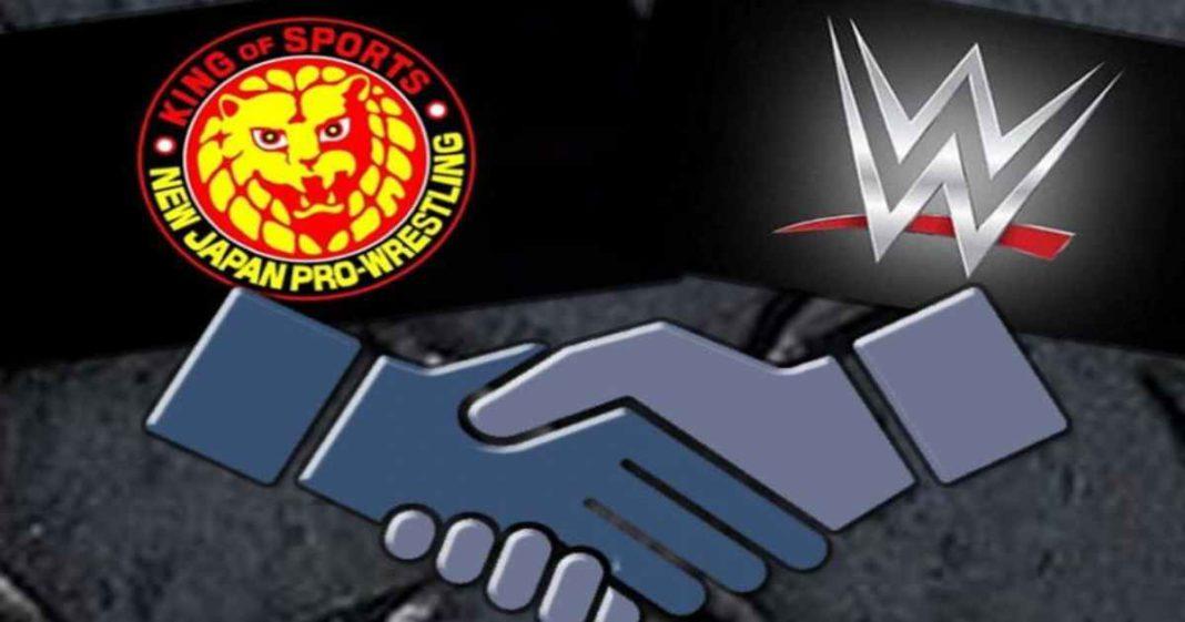 WWE y NJPW en platicas para una posible alianza