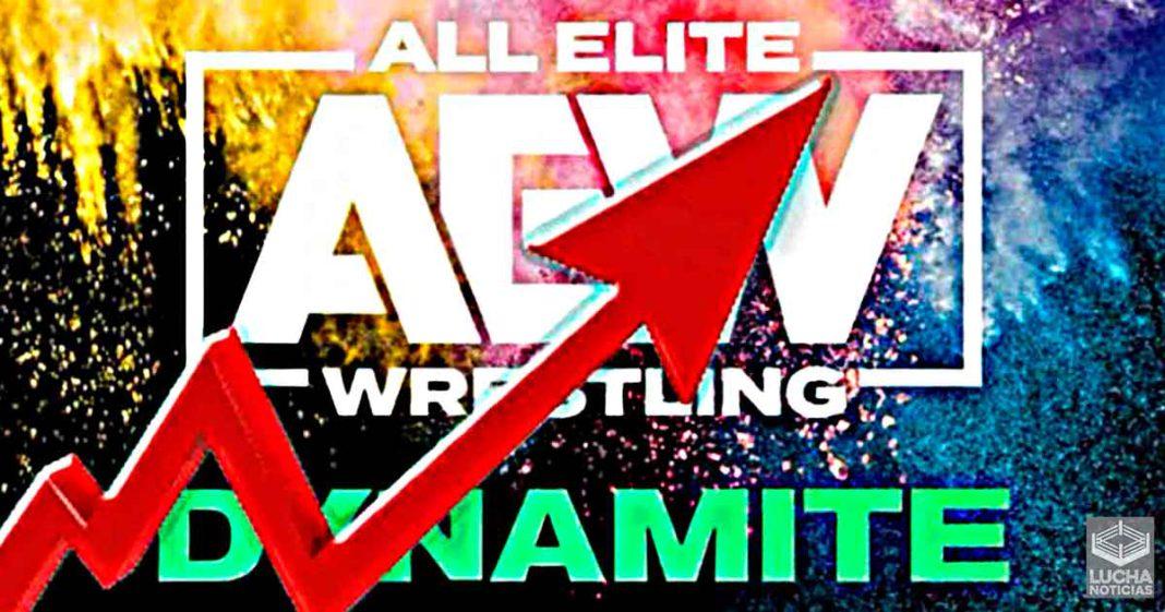 AEW Dynamite tiene un gran aumento en sus ratings