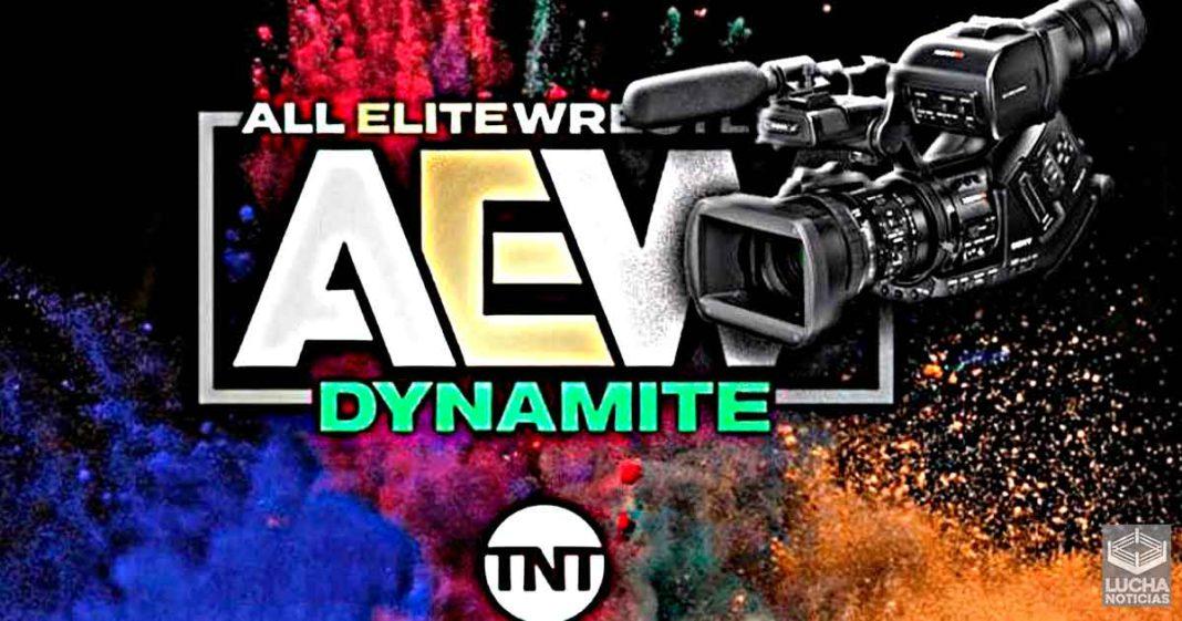 AEW grabará meses de material para televisión esta semana