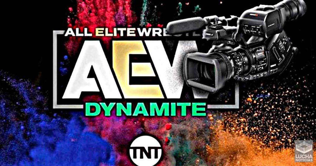 AEW no planea grabar otro episodio de Dynamite en un largo tiempo