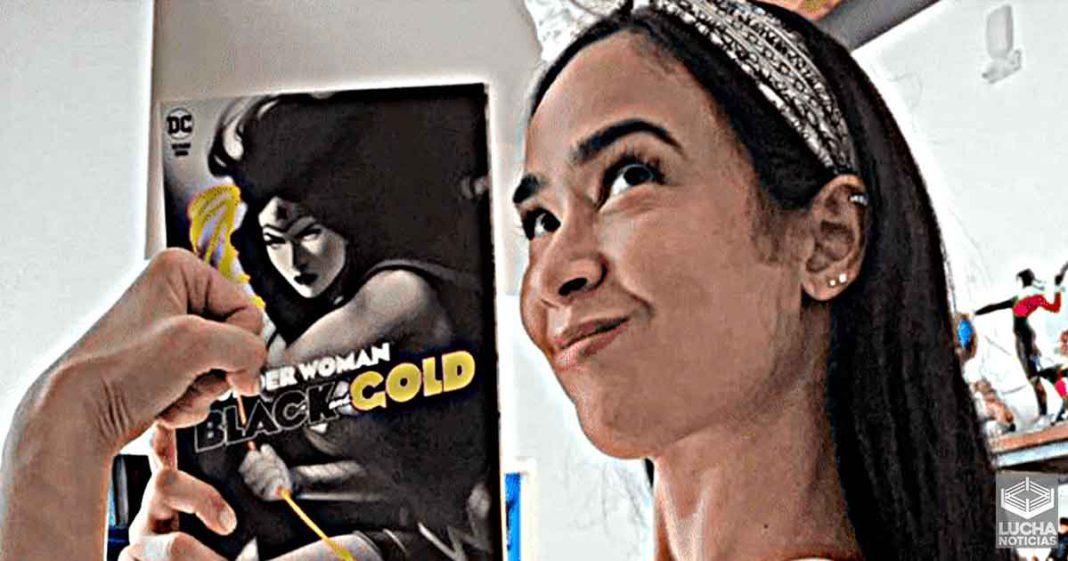 AJ Lee escribe comic de Wonder Woman