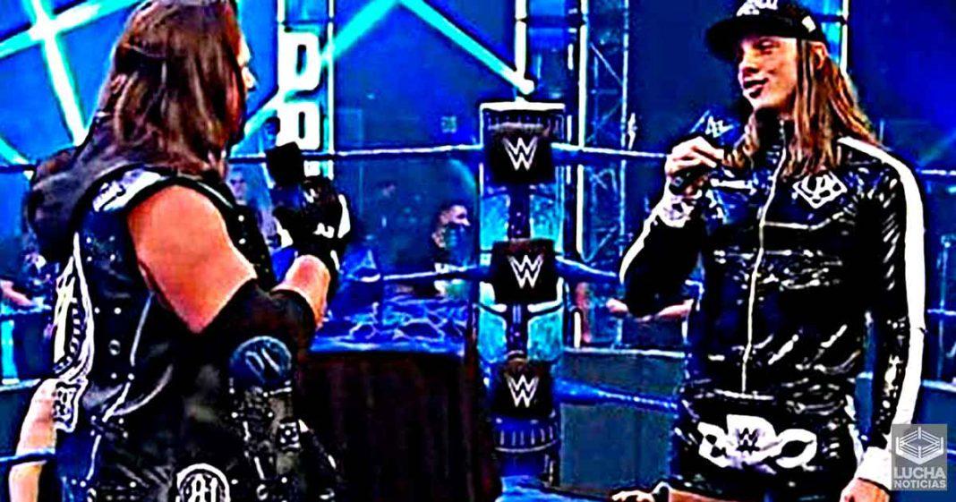 AJ Styles cuenta graciosa historia de cuando trabajo con Matt Riddle