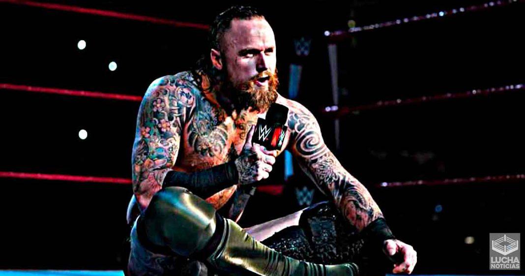 Aleister Black a los luchadores que quiere enfrentar trás su despido de la WWE