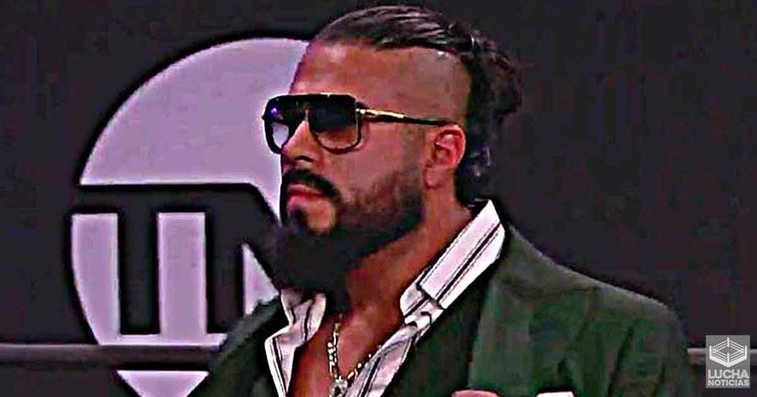 Andrade deja en claro que no nació en la WWE