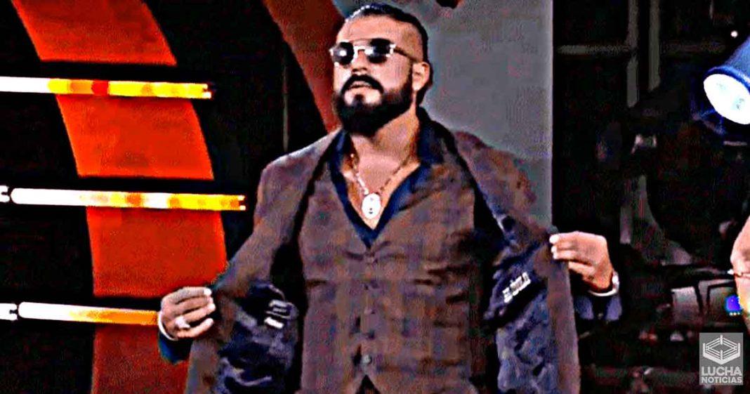 Andrade promete gran sorpresa para AEW Dynamite