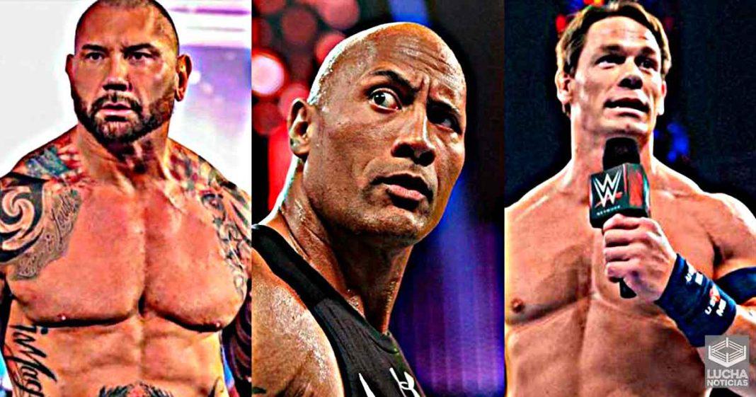 Batista aclara por qué no quiere trabajar en el cine con Cena y The Rock