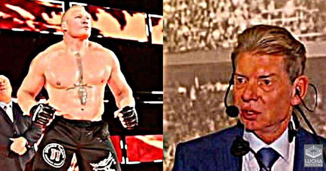 Brock Lesnar no estará en SummerSlam hasta el momento