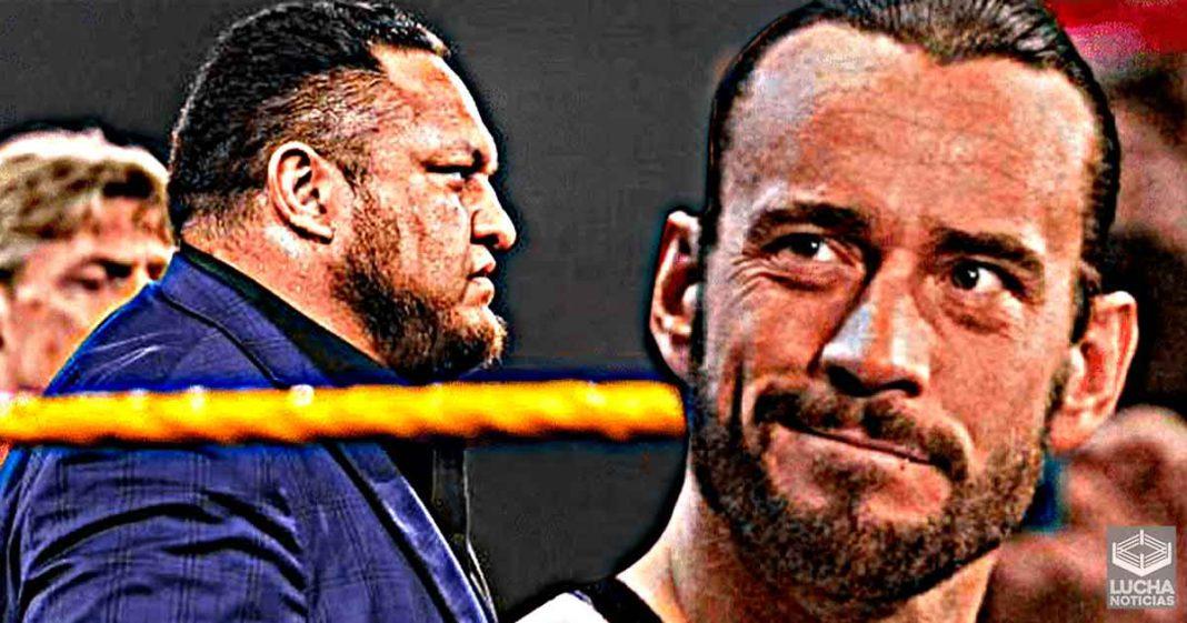 CM Punk ataca a WWE trás recontratar a Samoa Joe