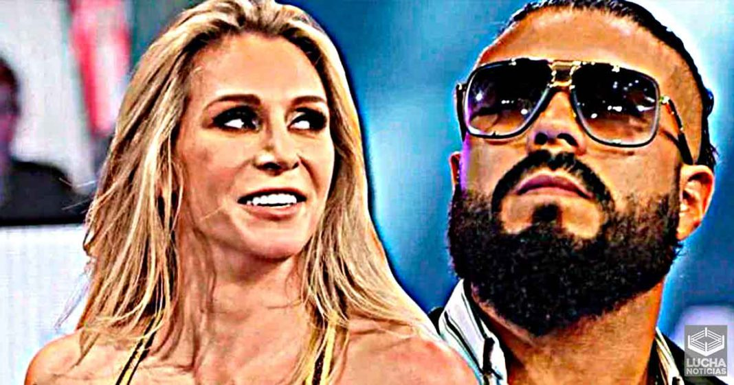 Charlotte Flair dice que se motivo cuando Andrade dejó la WWE