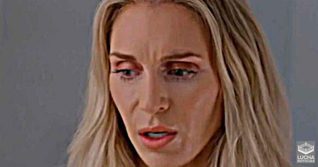 Charlotte Flair estaba devastada luego de ser sacada de WrestleMania 37