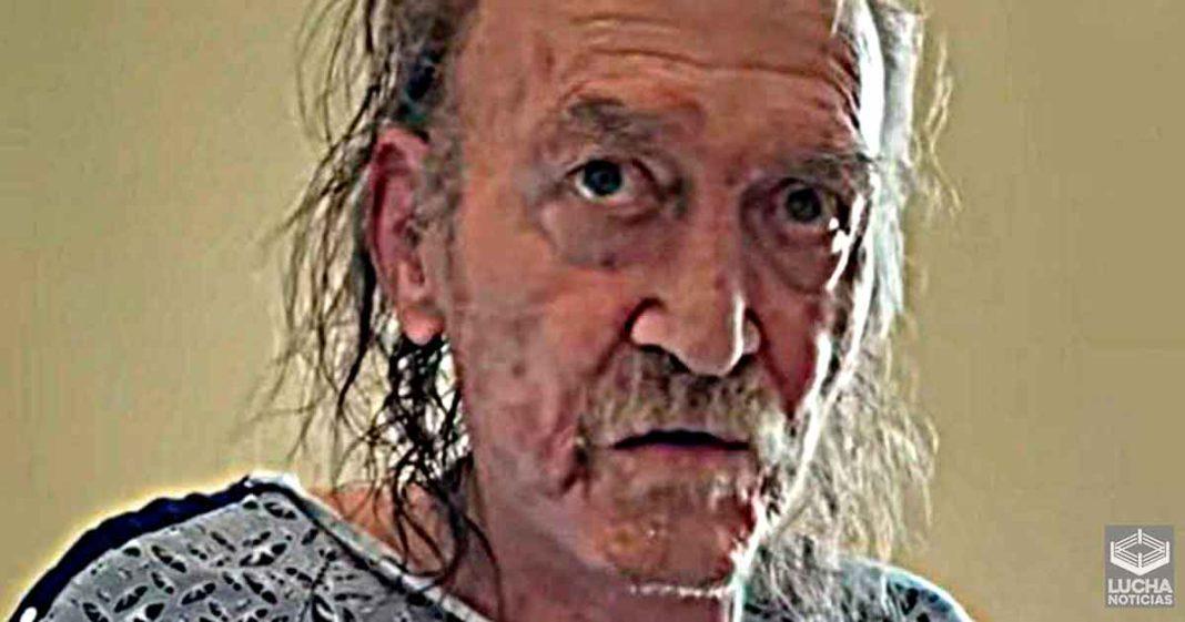 Devastadora imagen de leyenda de WWE y como ha envejecido