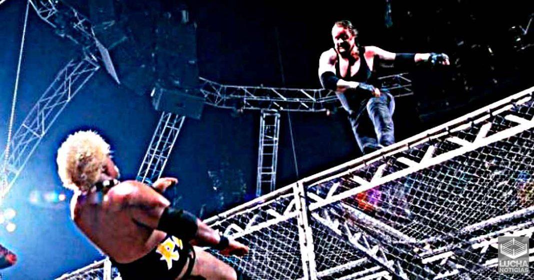 Dile a mi familia que la amo - Rikishi a Undertaker antes de lanzarlo de la Celda Infernal