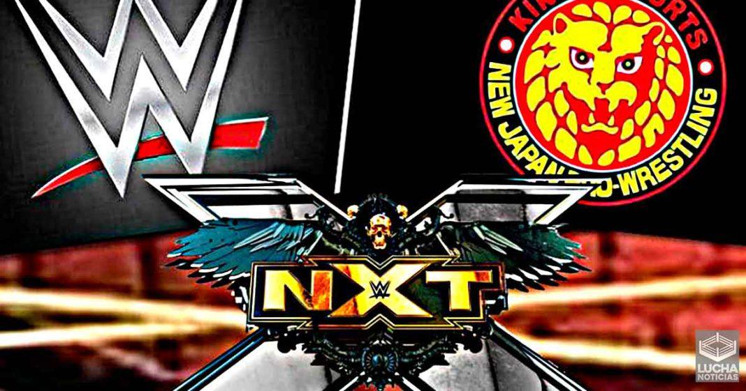 El acuerdo de WWE y NJPW se concentrará en NXT