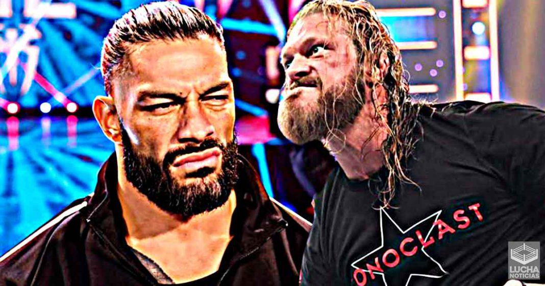 Es Oficial Edge vs Roman Reigns en WWE Money In The Bank