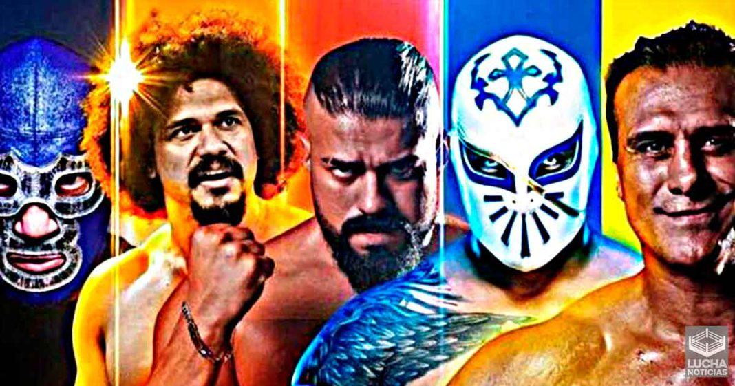 Evento con Andrade y Alberto Del Rio criticado por copíar diseño de SummerSlam