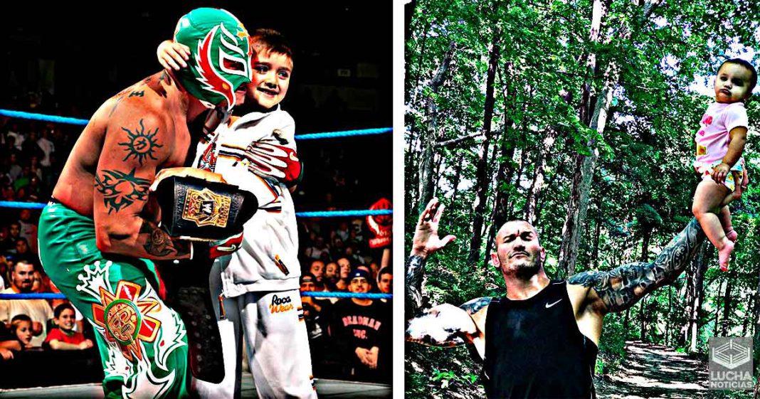 Feliz día de Padre: Los papás más tiernos de WWE