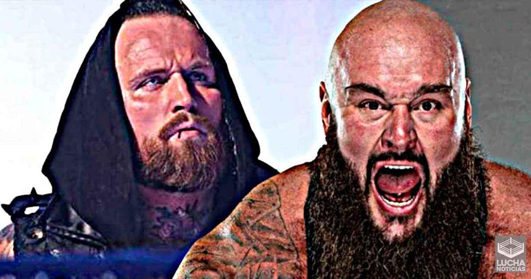 ¿Firmará AEW a Braun Strowman y Aleister Black?