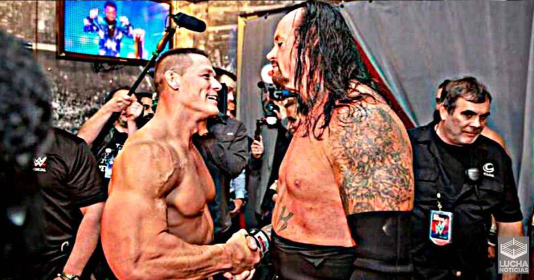John Cena alguna vez venció a The Undertaker
