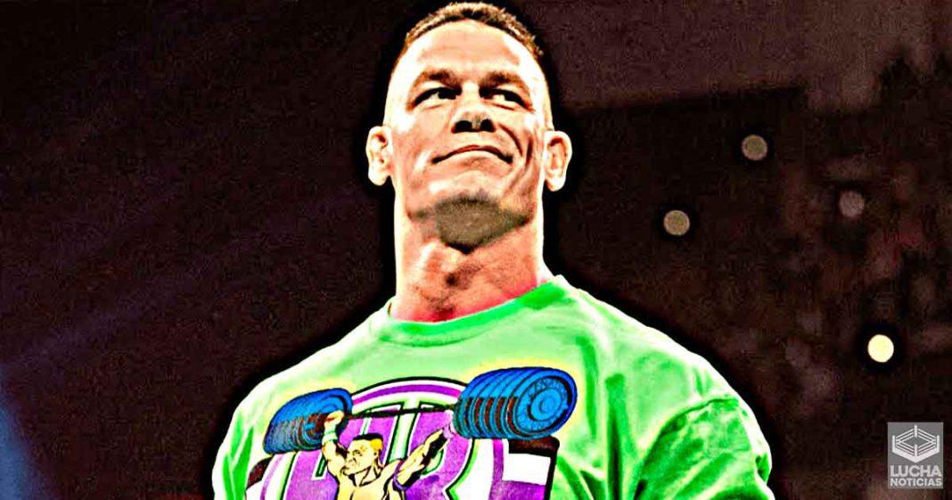 John Cena dice que la WWE no lo necesita actualmente