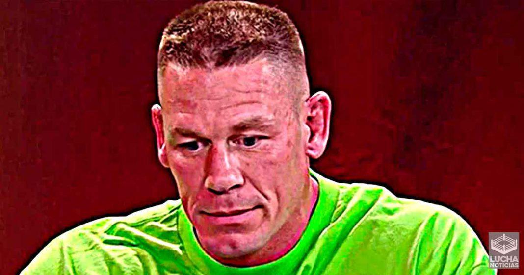 John Cena es juzgado por no tener la misma emoción en WWE