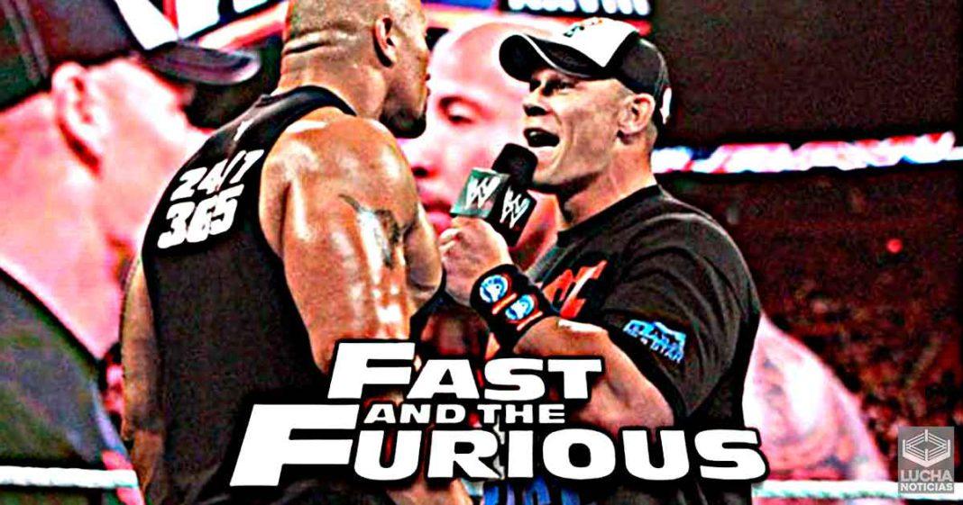 John Cena quiere enfrentar a The Rock en Rapidos y Furiosos