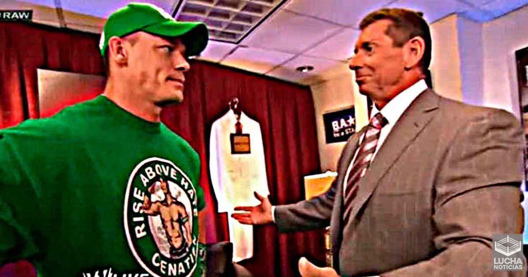 John Cena rechazó la idea de Vince McMahon de volverlo un rudo al estilo de Bret Hart