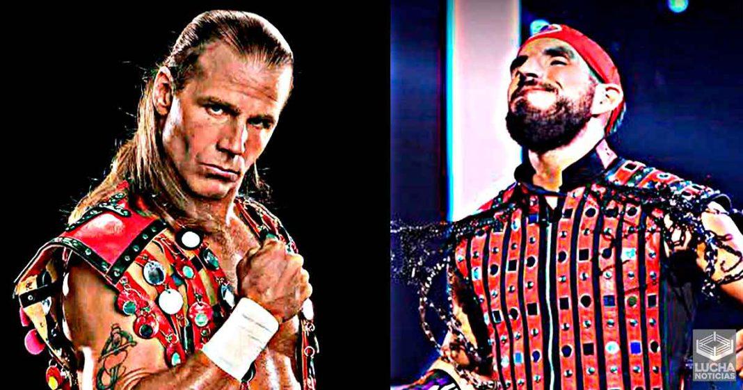Johnny Gargano rinde tributo a Shawn Michaels y este lo sorprende de una manera increíble
