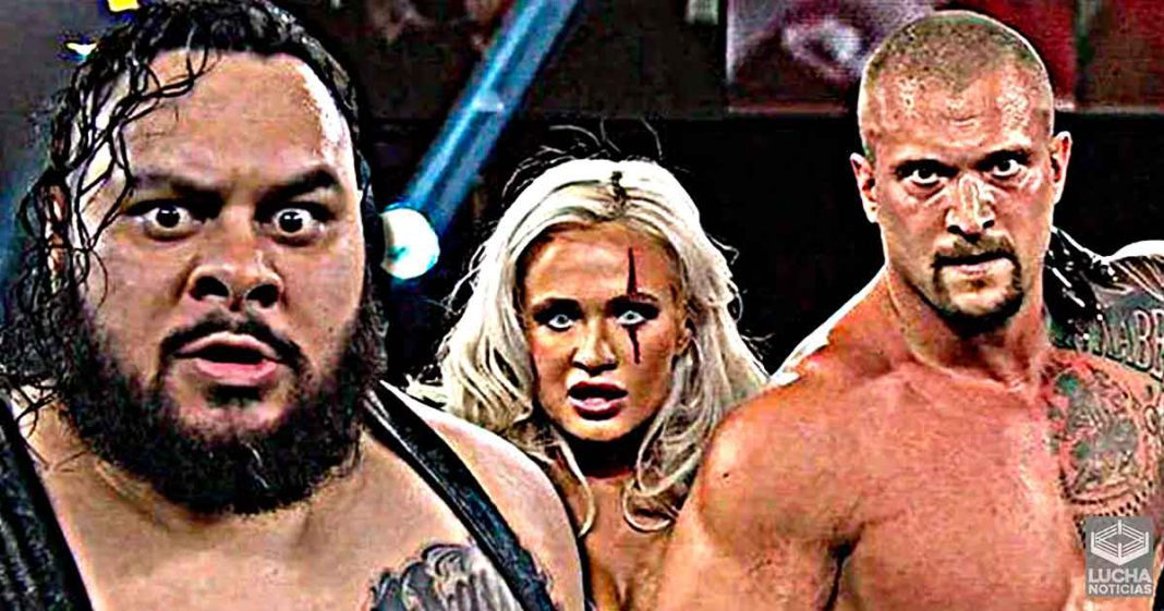 Karrion Kross y Bronson Reed están en el backstage de WWE RAW