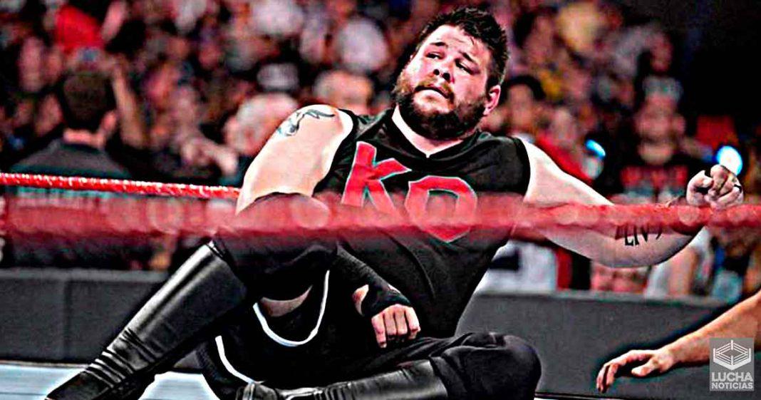 Kevin Owens se alejara por un tiempo de la lucha libre