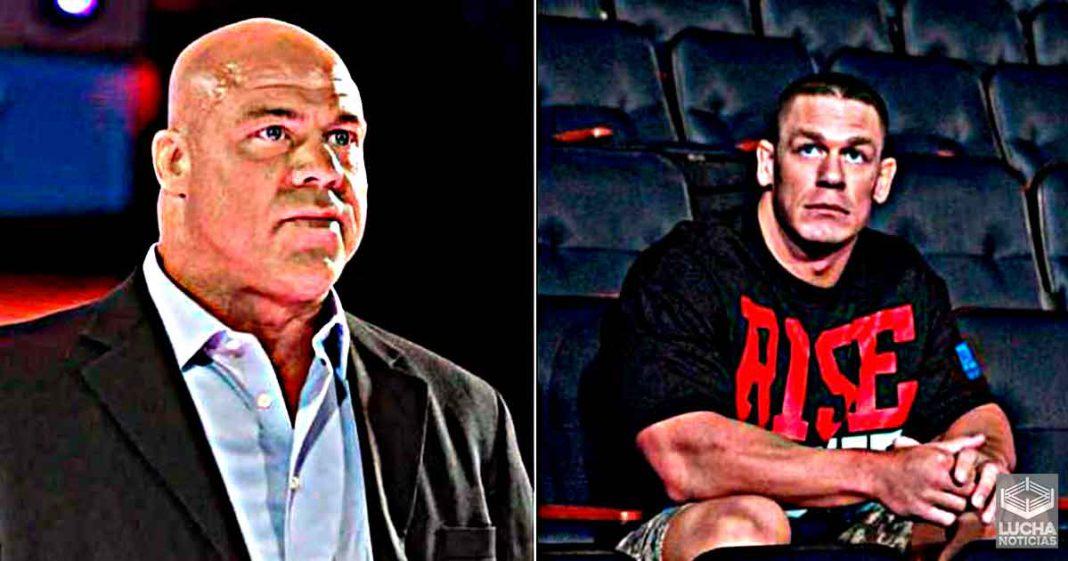 Kurt Angle revela cuales fueron sus primeras impresiones de John Cena