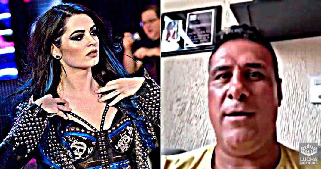"""""""La única razón por la que todavía tienes trabajo es porque nunca te expuse"""" - Alberto Del Rio a Paige"""