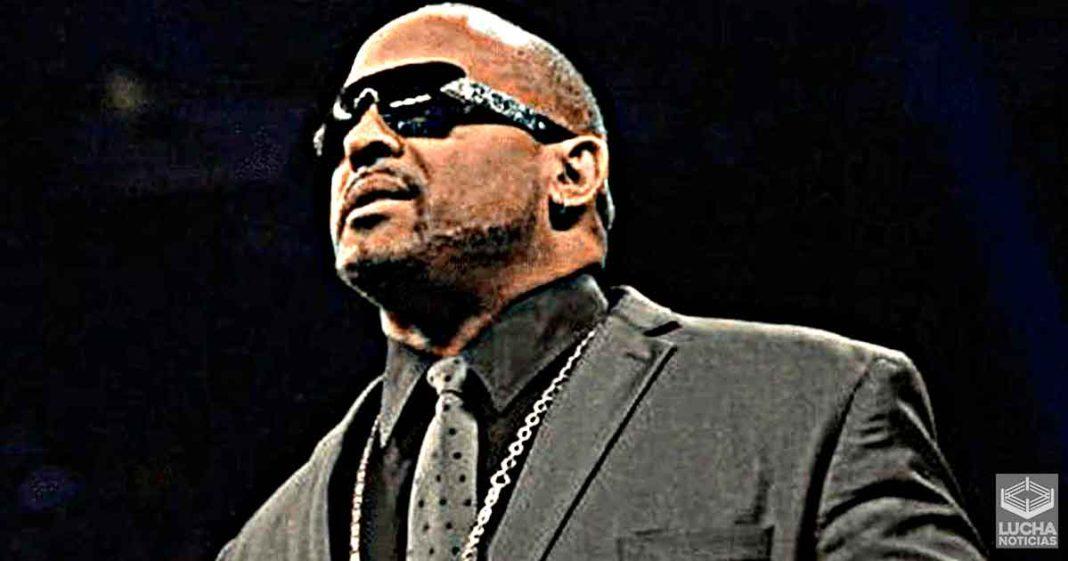 MVP estuvo en los vestidores de WWE NXT esta semana