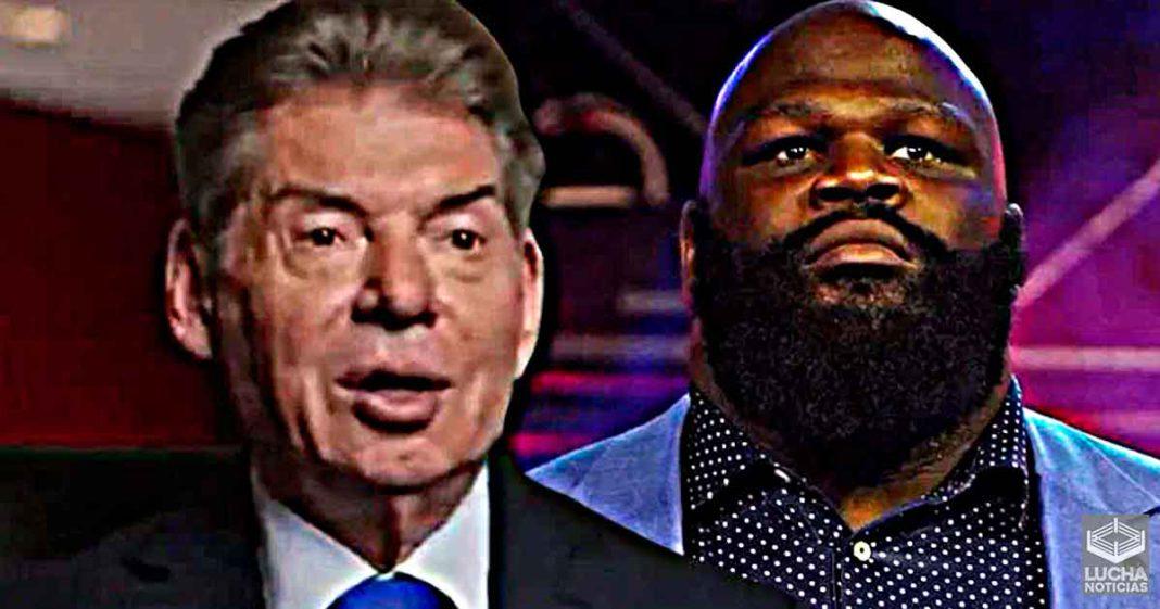 Mark Henry revela conversación con Vince McMahon antes de firmar con AEW