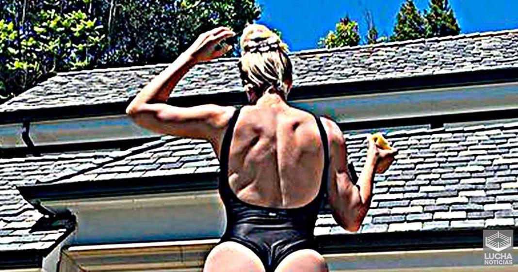 Maryse sorprende con gran foto en bañador