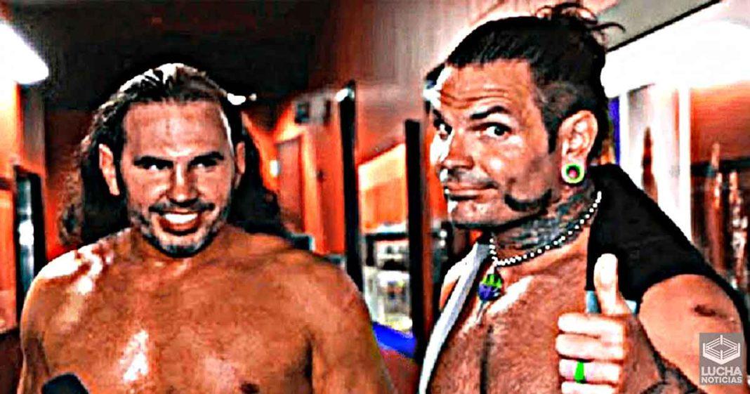 Matt Hardy quiere una lucha contra Jeff Hardy en AEW