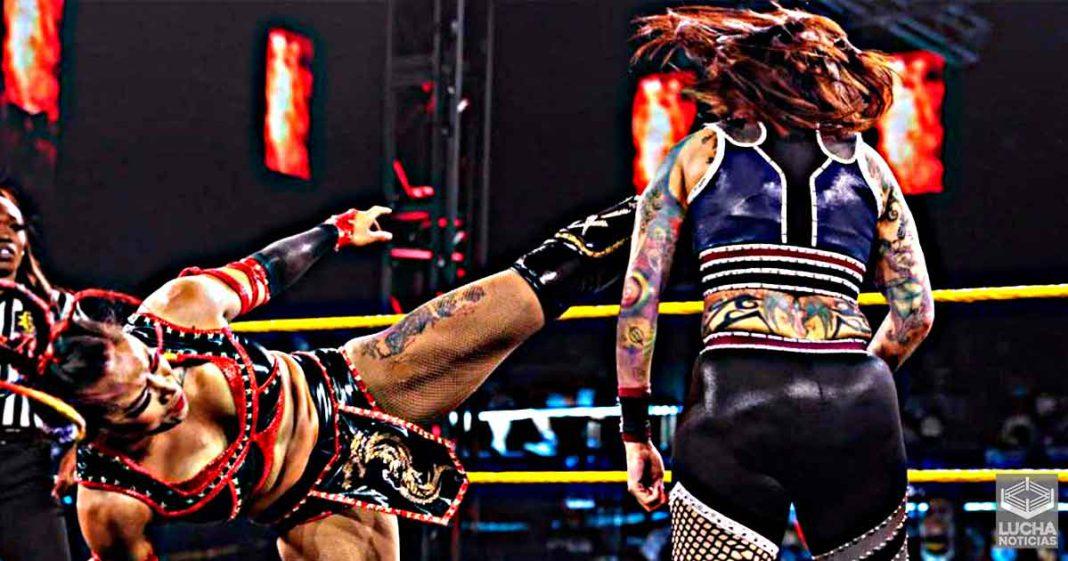 Mercedes Martínez hospitalizada trás ser noqueada en WWE NXT