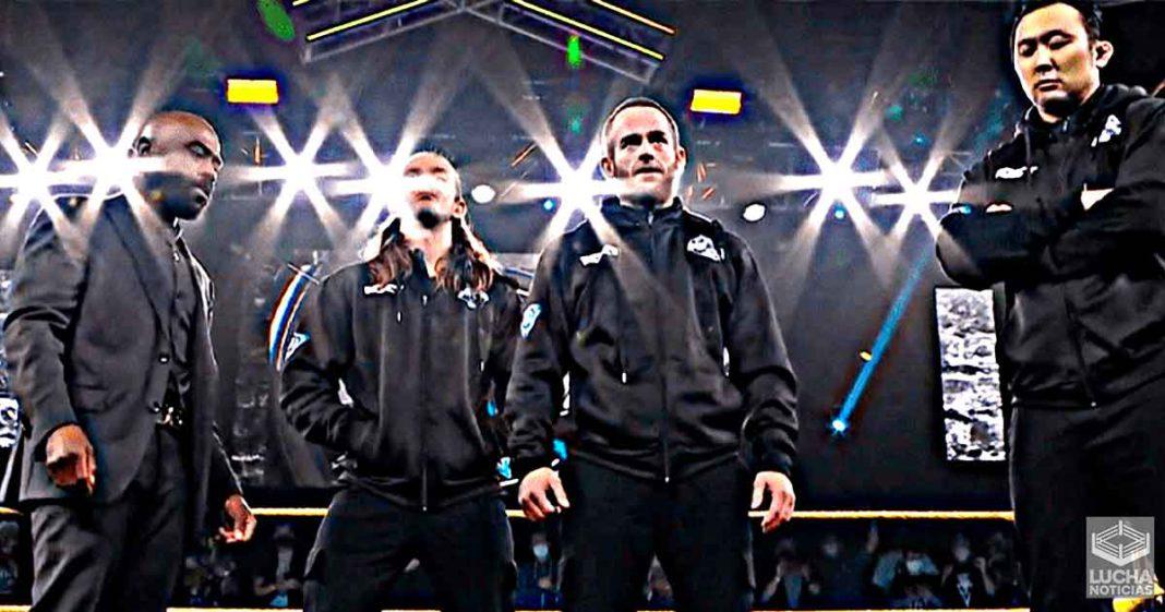 Nueva facción invade WWE NXT esta semana