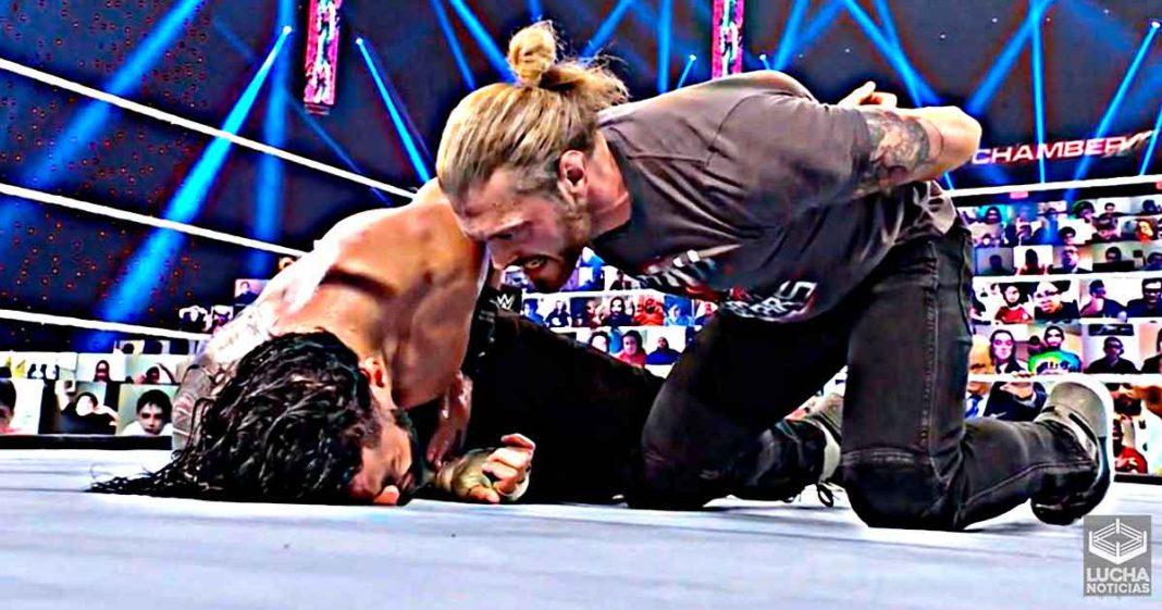 Oponente de Roman Reigns después de que derrote a Edge