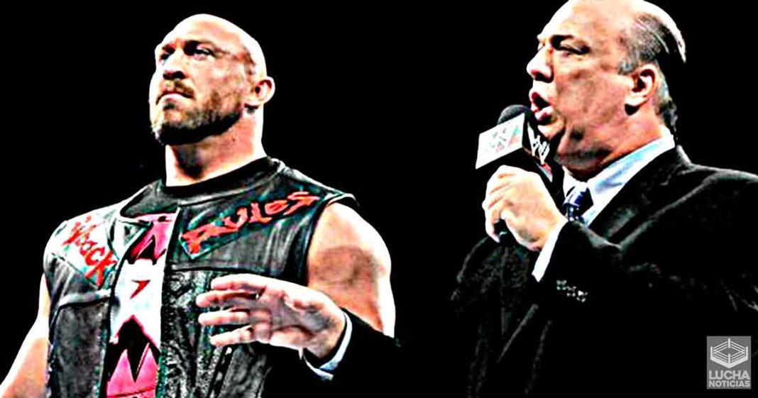 Paul Heyman dice que sabía que Ryback nunca sería un éxito en WWE