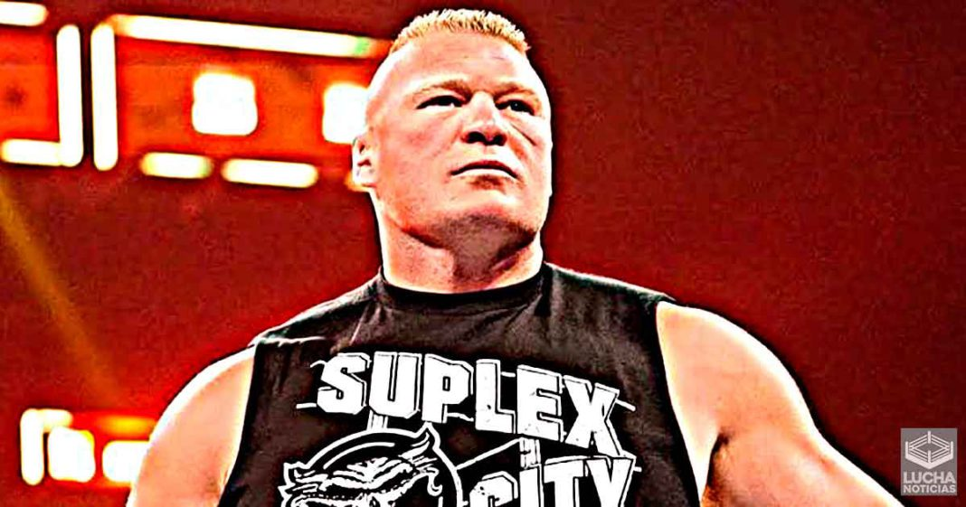 Planes originales para Brock Lesnar en WWE SummerSlam