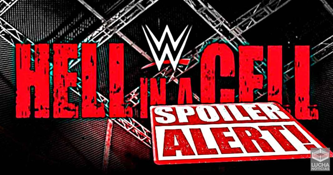 Posible Spoiler para WWE Hell In A Cell 2021