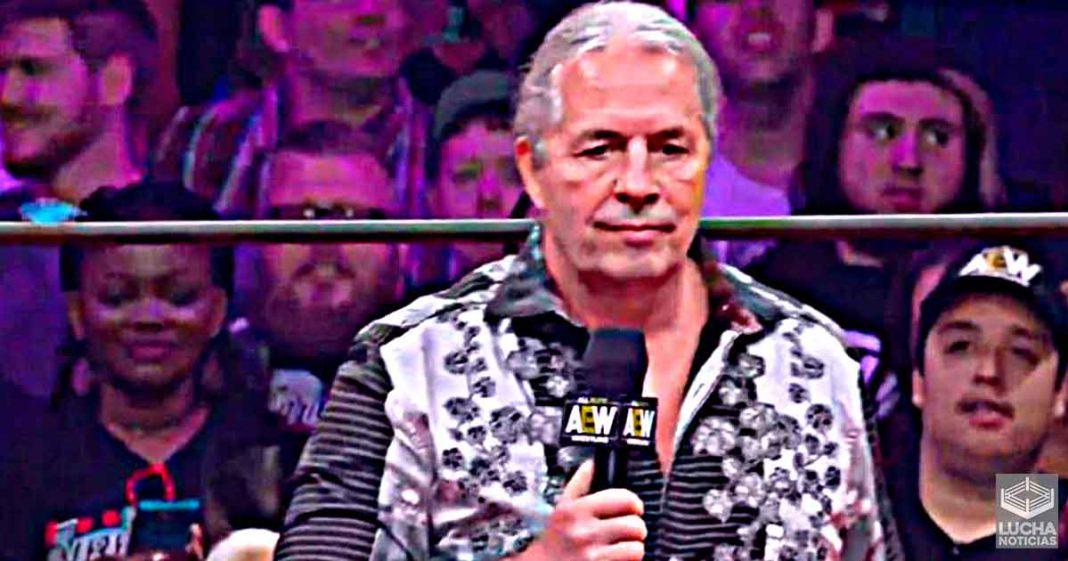 Qué tan cerca está AEW de firmar a Bret Hart