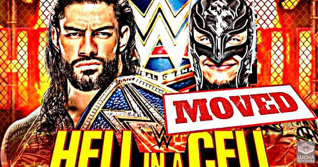 Razón por la cual WWE cambió el Hell In A Cell entre Roman Reigs y Rey Mysterio en SmackDown