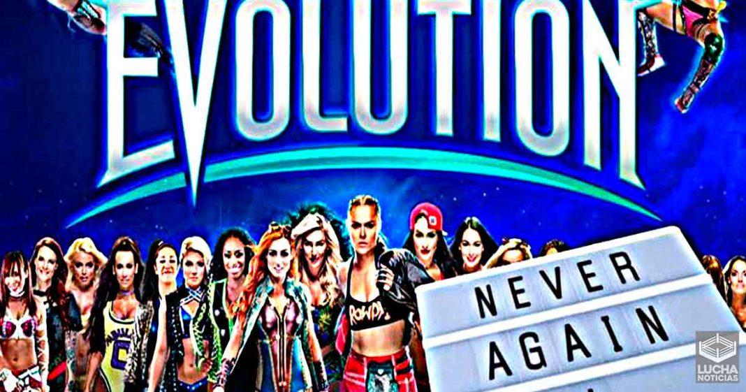 Razón por la cual WWE no ha hecho de nuevo un evento exclusivo de mújeres