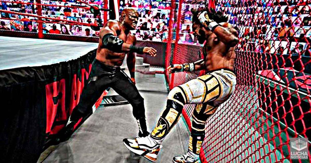 Razón por la que Xavier Woods enfrentó a Bobby Lashley dentro de la Celda Infernal en WWE RAW